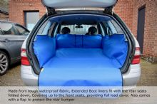 Dacia - Up to Front Seats Boot Liner
